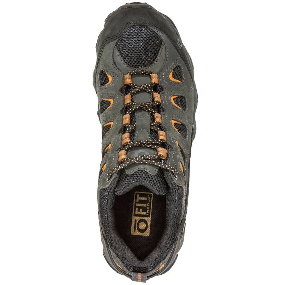 OBOZ Men's Sawtooth II Low B-Dry Waterproof Hiking Shoes - SHADOW/BURLAP