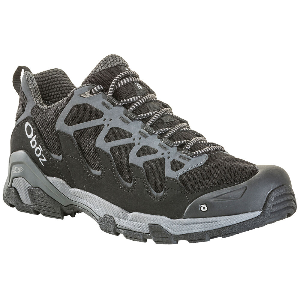 OBOZ Men's Cirque Low B-Dry Waterproof Hiking Shoes 9.5