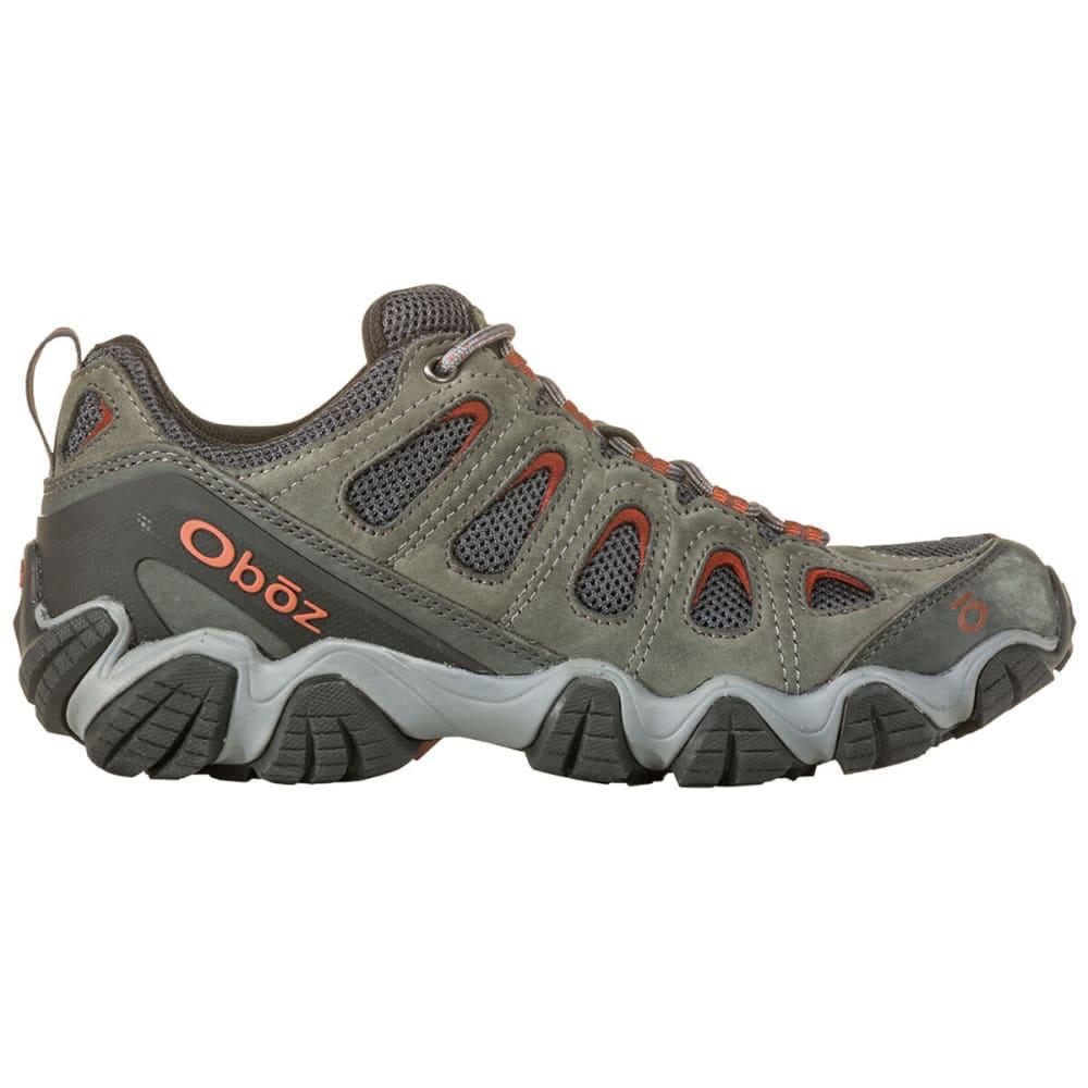 OBOZ Men's Sawtooth II Low Hiking Shoes - DK SHADOW BRANDY BRW