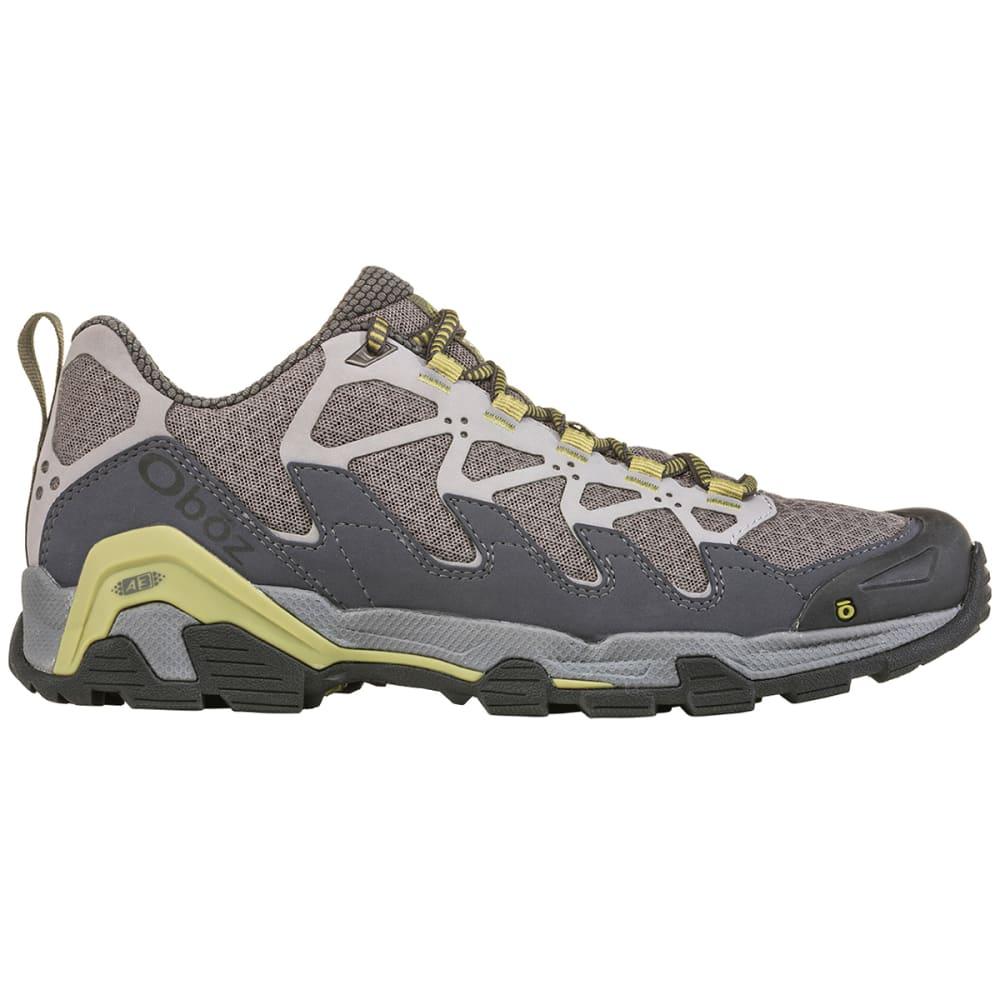 OBOZ Men's Cirque Low Hiking Shoes - PEWTER