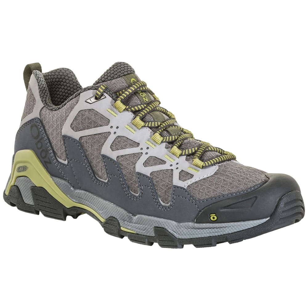 OBOZ Men's Cirque Low Hiking Shoes - PEWTER