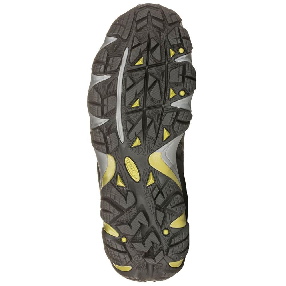 OBOZ Men's Sawtooth II Mid B-Dry Waterproof Hiking Shoes - DK SHADOW WOODBIN GR