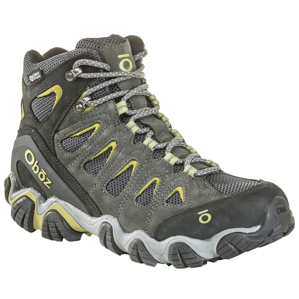 OBOZ Men's Sawtooth II Mid B-Dry Waterproof Hiking Shoes 8