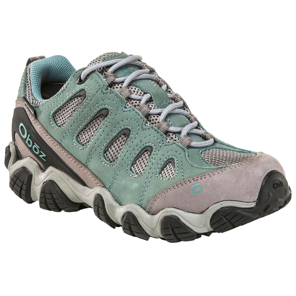 OBOZ Women's Sawtooth II Low B-Dry Waterproof Hiking Shoes - MINERAL