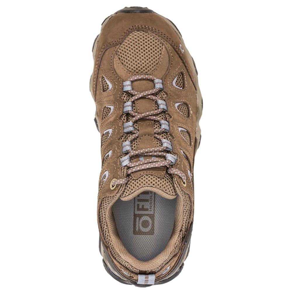 OBOZ Women's Sawtooth II Low B-Dry Waterproof Hiking Shoes, Wide - BRINDAL