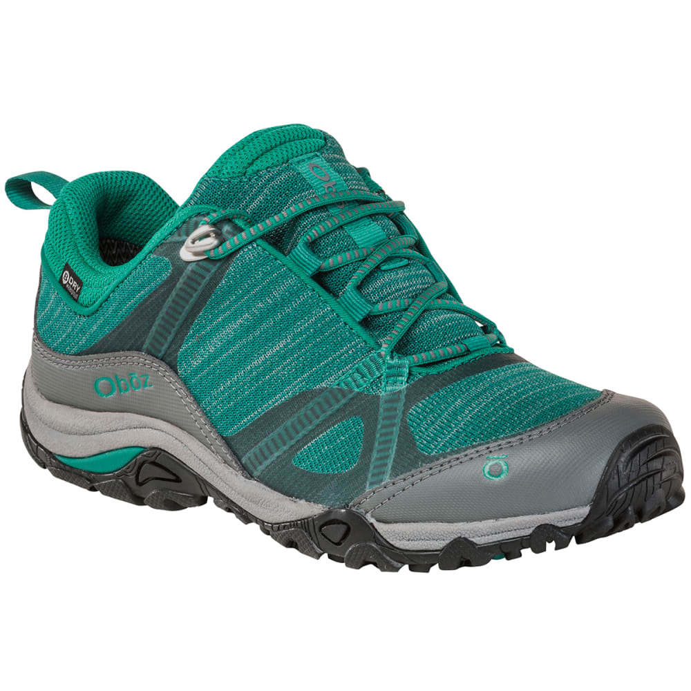 OBOZ Women's Lynx Low B-Dry Waterproof Hiking Shoes - AQUA FROST