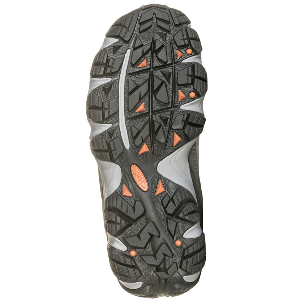 OBOZ Women's Sawtooth II Low Hiking Shoes - DRIZZLE/APRICOT