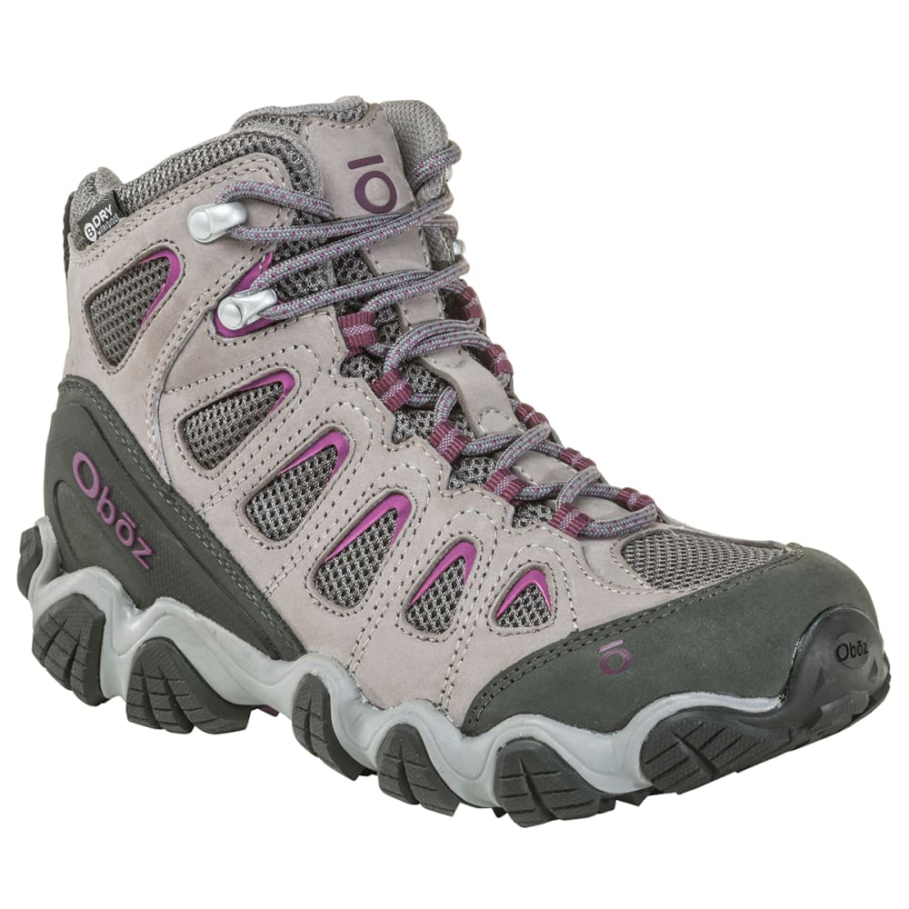 OBOZ Women's Sawtooth II Mid B-Dry Waterproof Hiking Boots 6