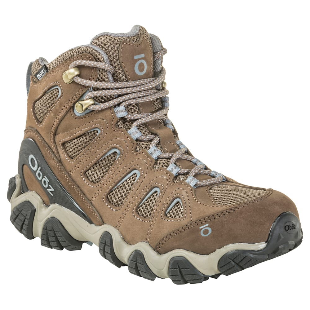 OBOZ Women's Sawtooth II Mid B-Dry Waterproof Hiking Boots 6