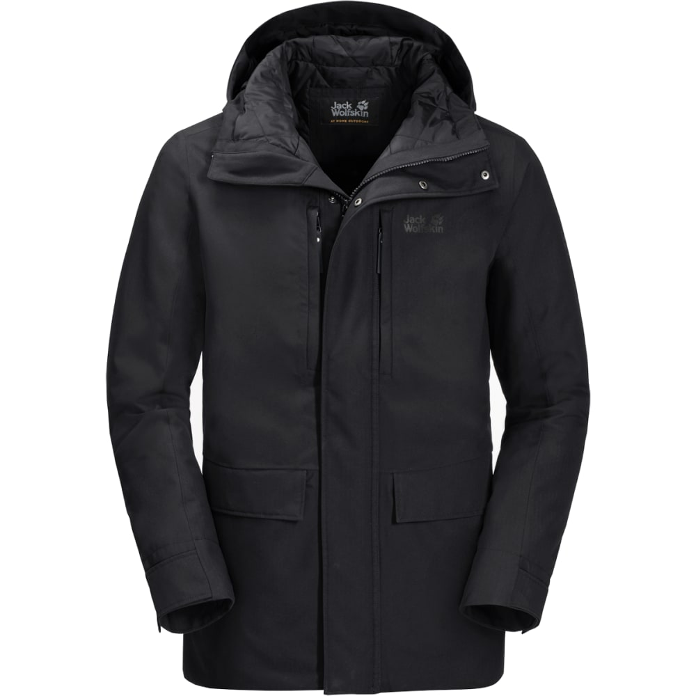 JACK WOLFSKIN West Coast Jacket - BLACK