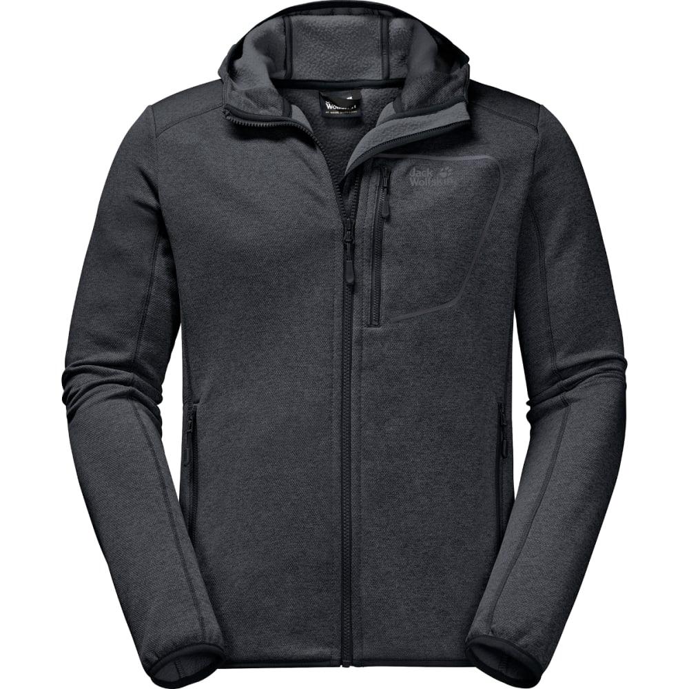 JACK WOLFSKIN Men's Skyland Hooded Jacket - PHANTOM