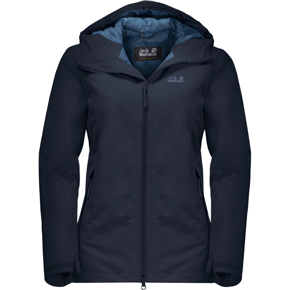 JACK WOLFSKIN Women's Chilly Morning Jacket - MIDNIGHT BLUE