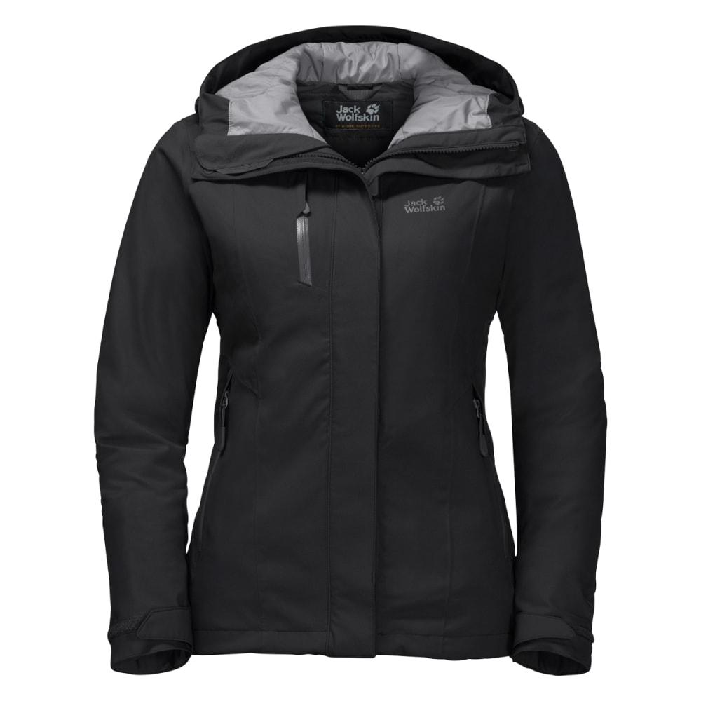 JACK WOLFSKIN Women's Troposphere Jacket - BLACK