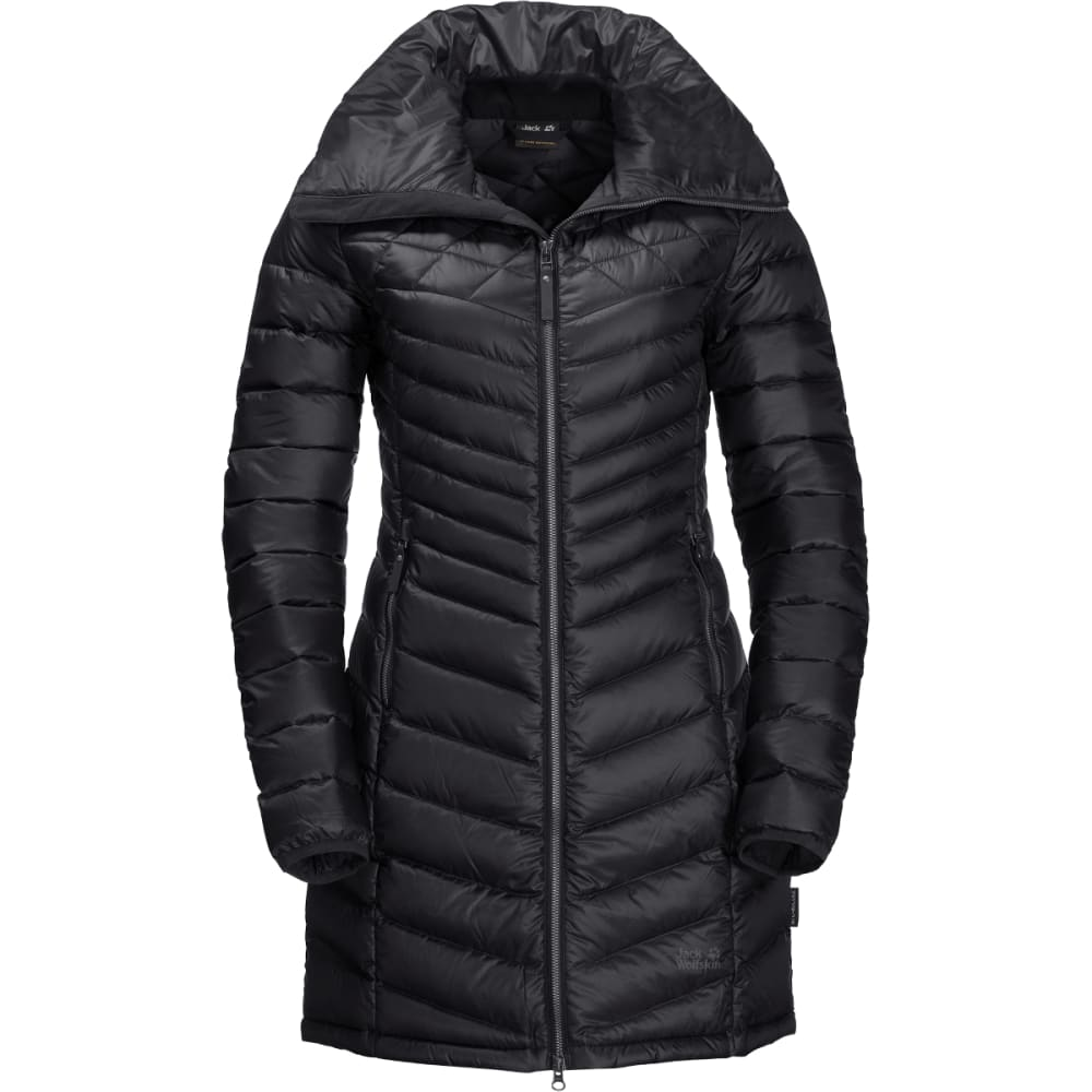 JACK WOLFSKIN Richmond Coat - BLACK