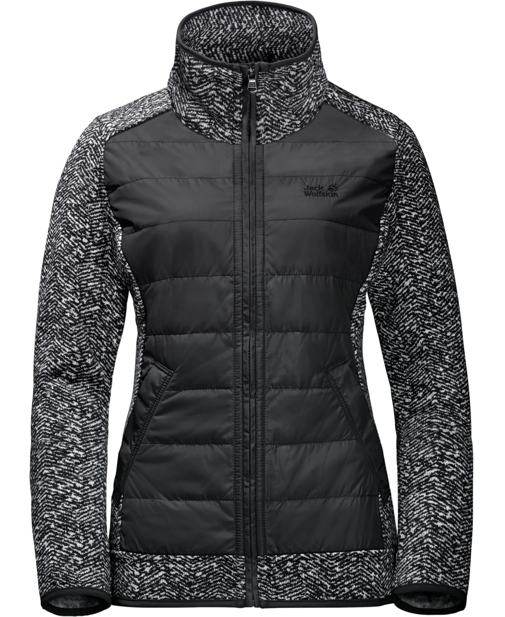JACK WOLFSKIN Belleville Crossing Jacket - BLACK