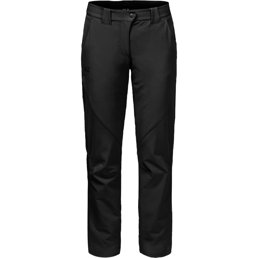 JACK WOLFSKIN Women's Chilly Track XT Pant - BLACK