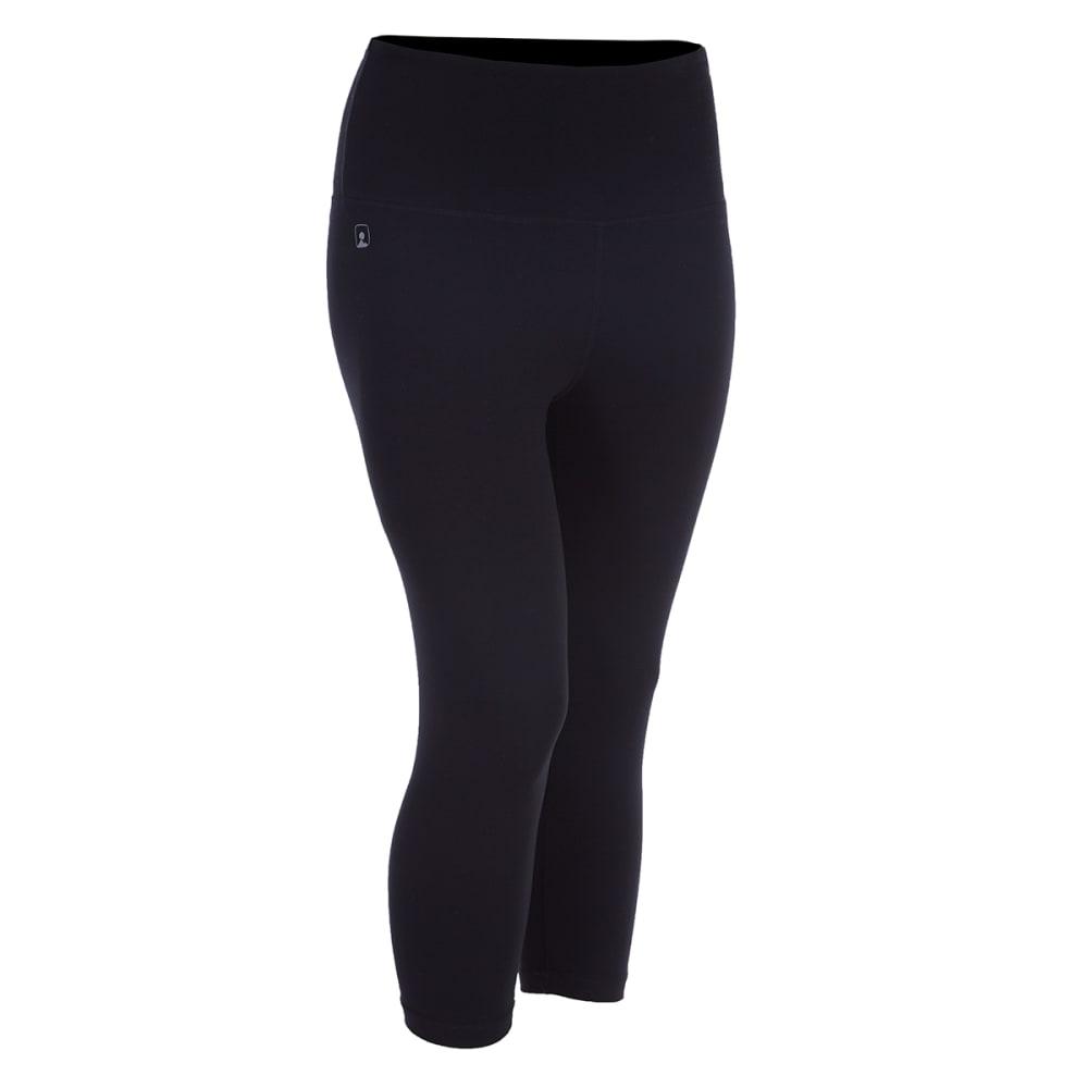 EMS Women's Techwick Performance Capri Leggings - BLACK