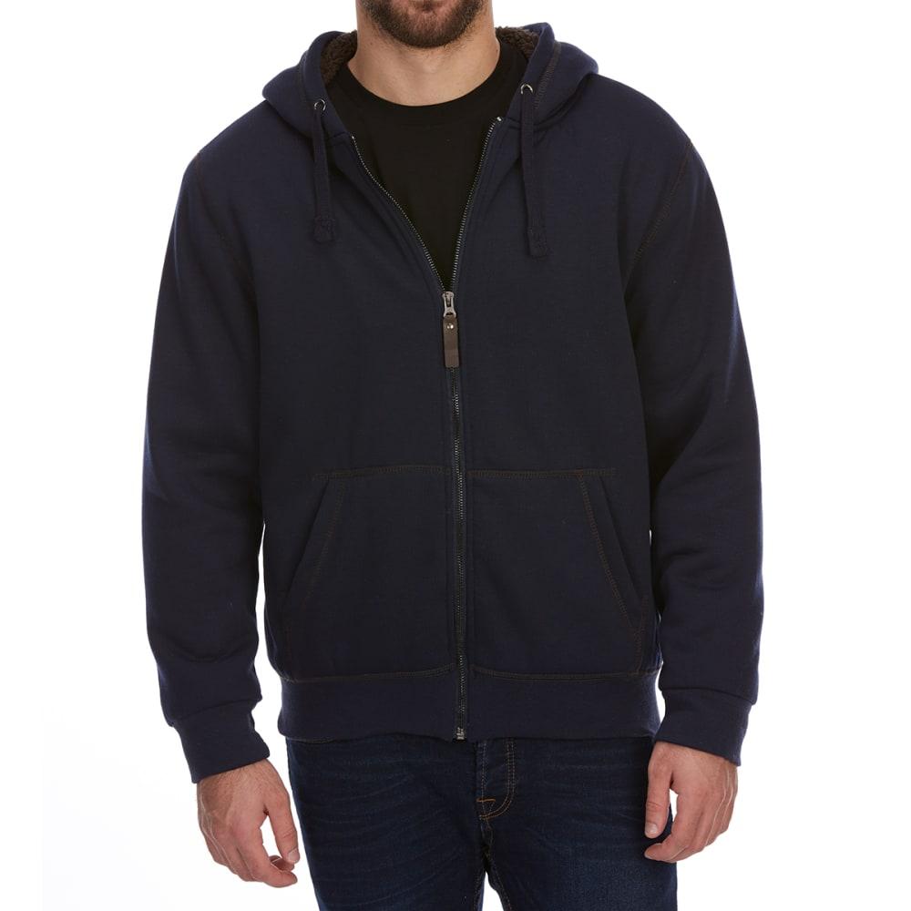 DUNLOP Men's Sherpa-Lined Full-Zip Hoodie XL