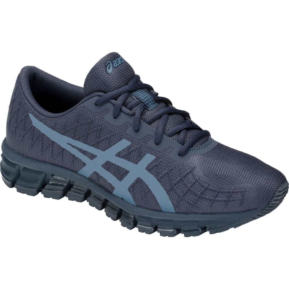 ASICS Men's Gel-Quantum 180 Running Shoes - TARMAC/STEEL BLU-021