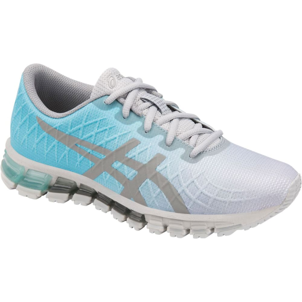 ASICS Women's Gel Quantum 180 4 Running Sneakers - ICE MINT/STN GRY-400