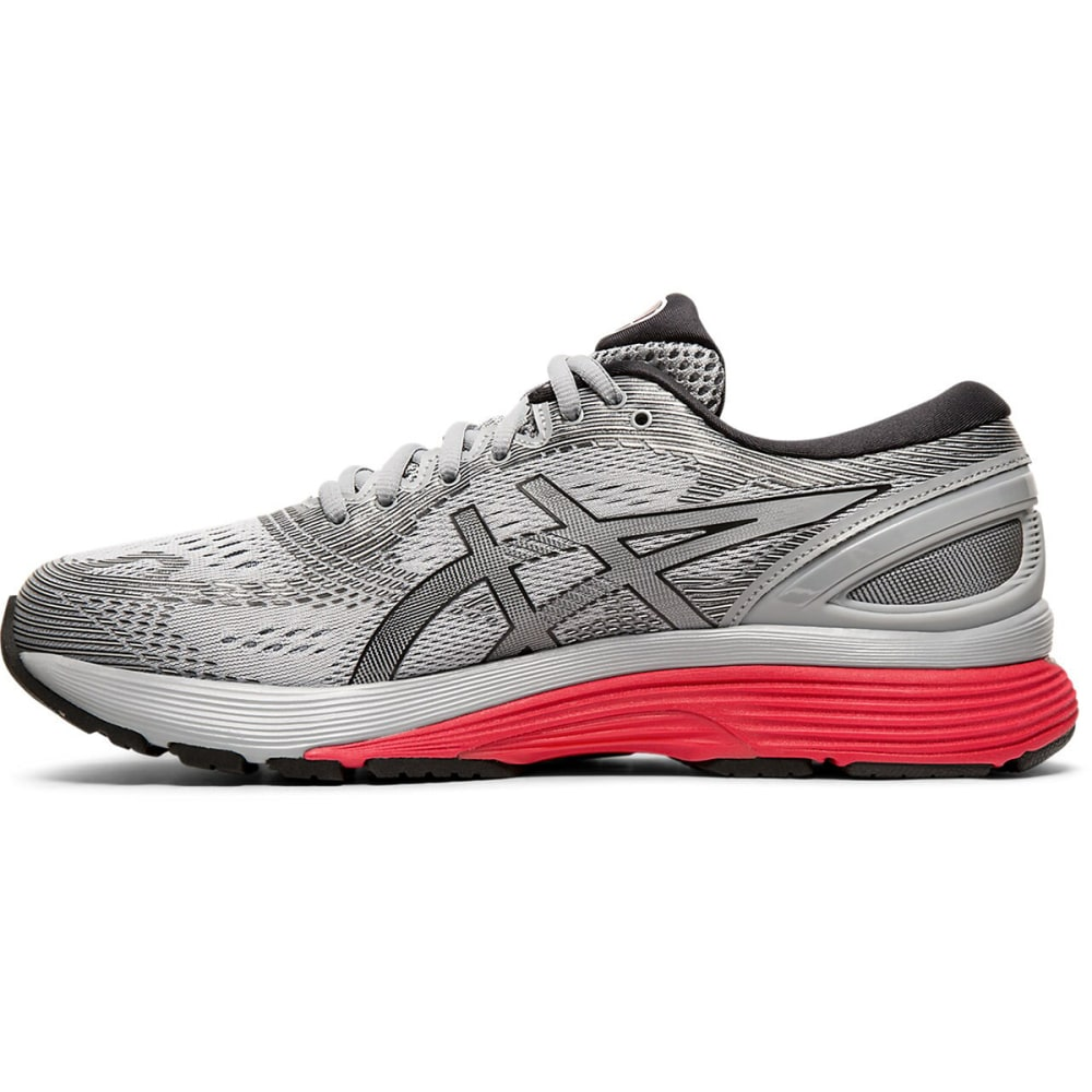 ASICS Men's GEL-NIMBUS 21 Running Shoes - SHEETROCK/BLACK-022