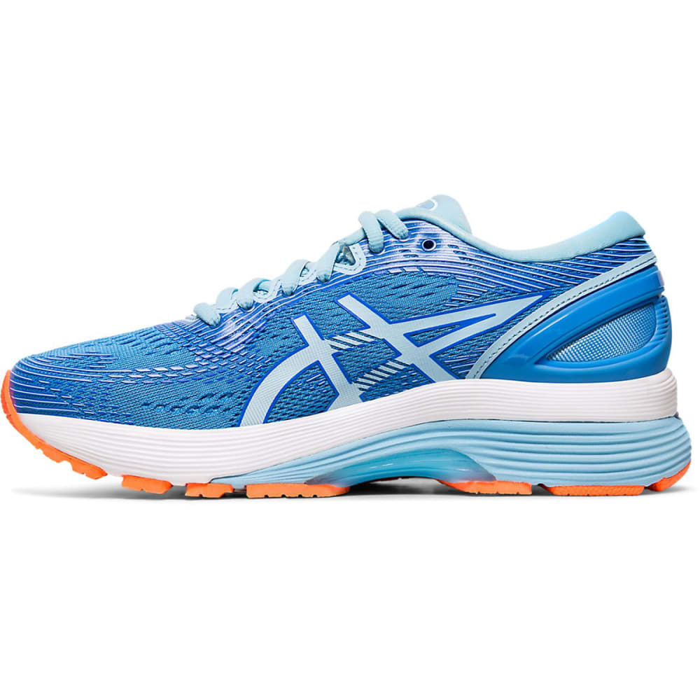 ASICS Women's Gel-Nimbus 21 Running Shoe - BLUE COAST-400