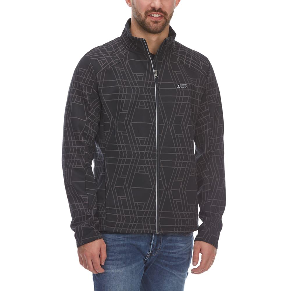 EMS Men's Reflective Softshell Jacket - ANTHRACITE