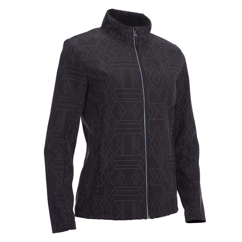 EMS Women's Reflective Softshell Jacket - PHANTOM