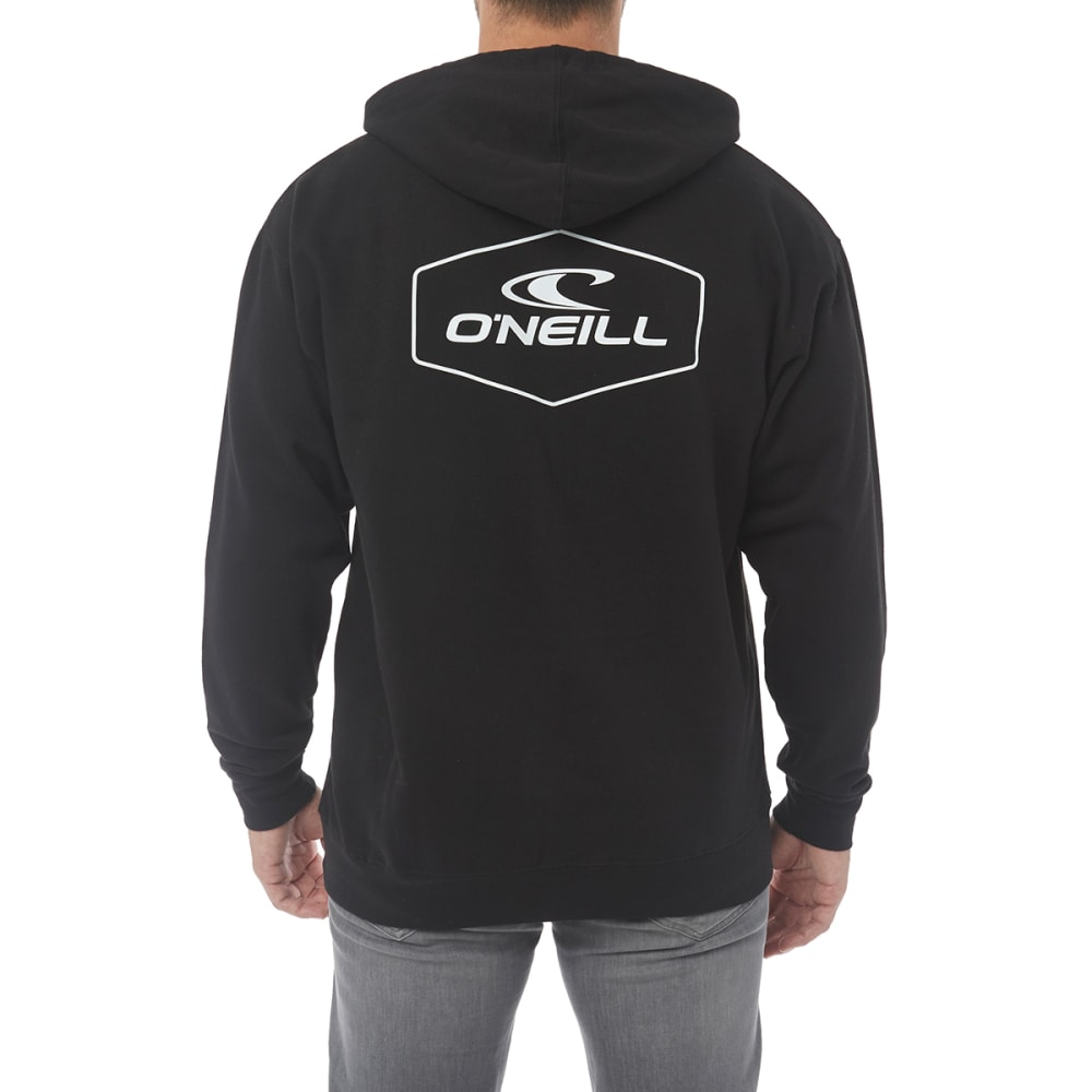 O'NEILL Guys' Trucker Fleece Pullover Hoodie - BLACK-BLK