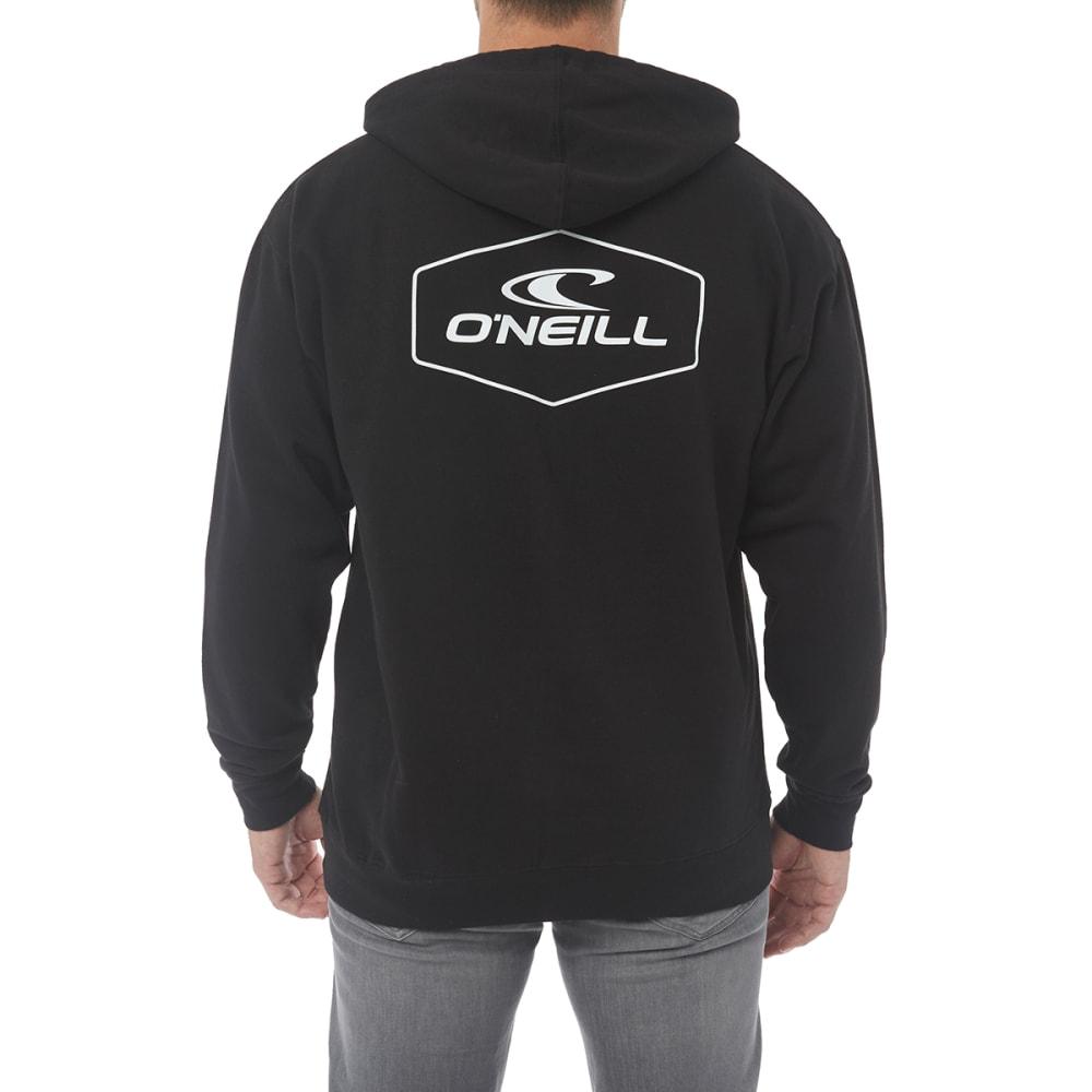 O'NEILL Guys' Trucker Fleece Pullover Hoodie - BLACK-BLK