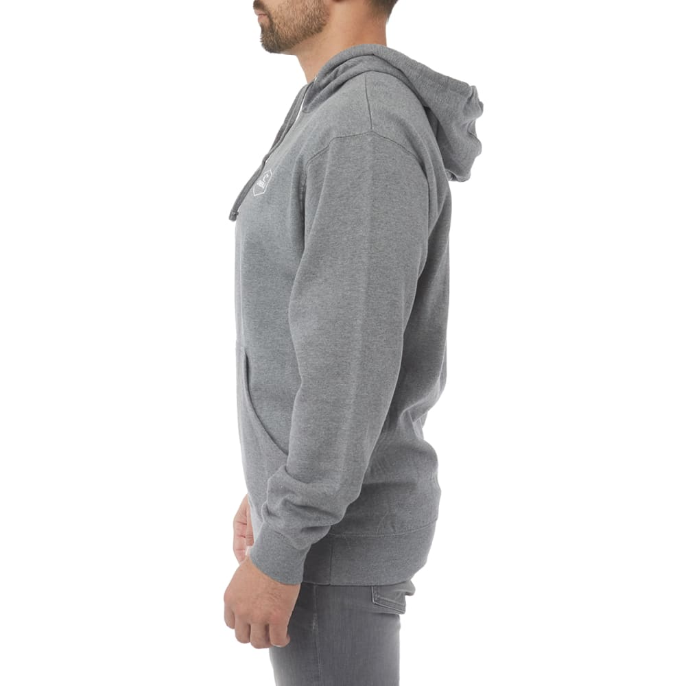 O'NEILL Guys' Trucker Fleece Pullover Hoodie - CHAR GRY-CHH