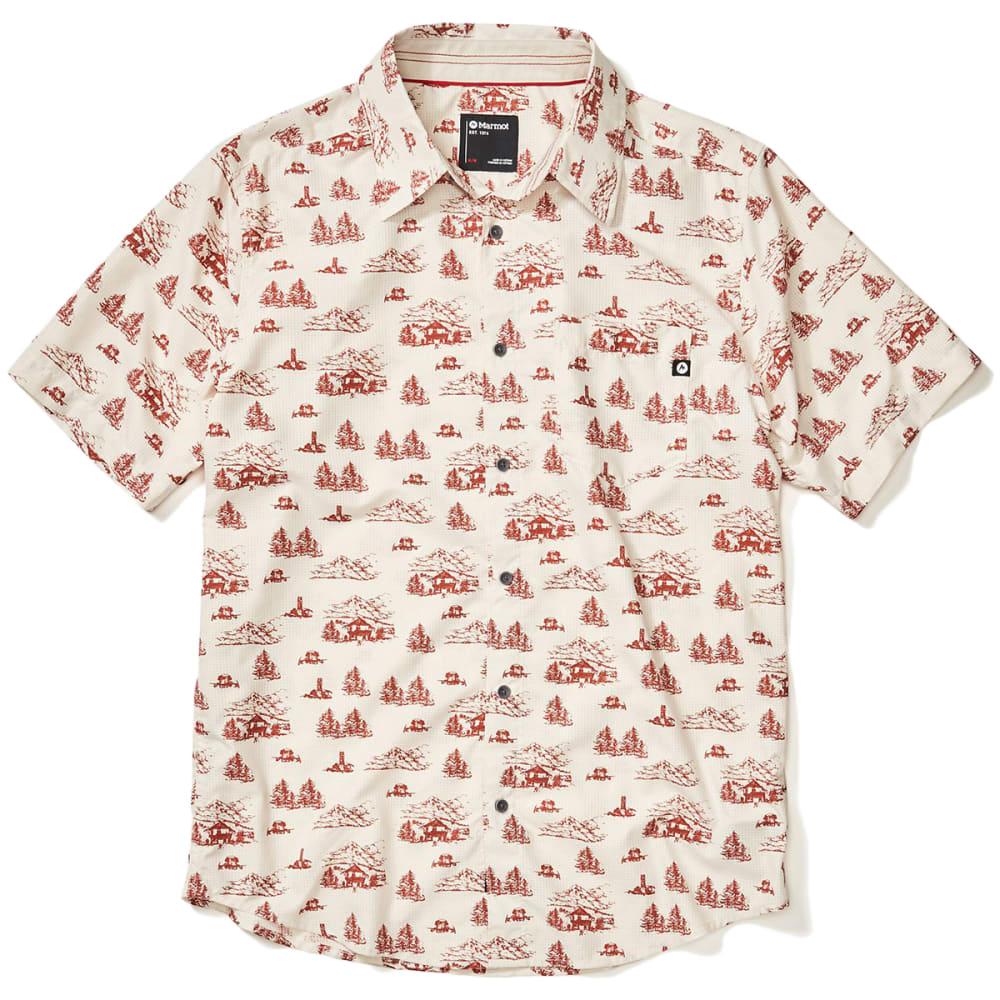 MARMOT Men's Syrocco Short-Sleeve Shirt XL
