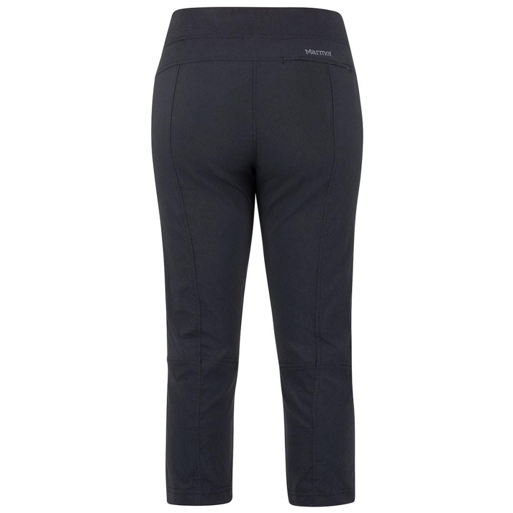MARMOT Women's Ravenna Capri Pants - BLACK-001