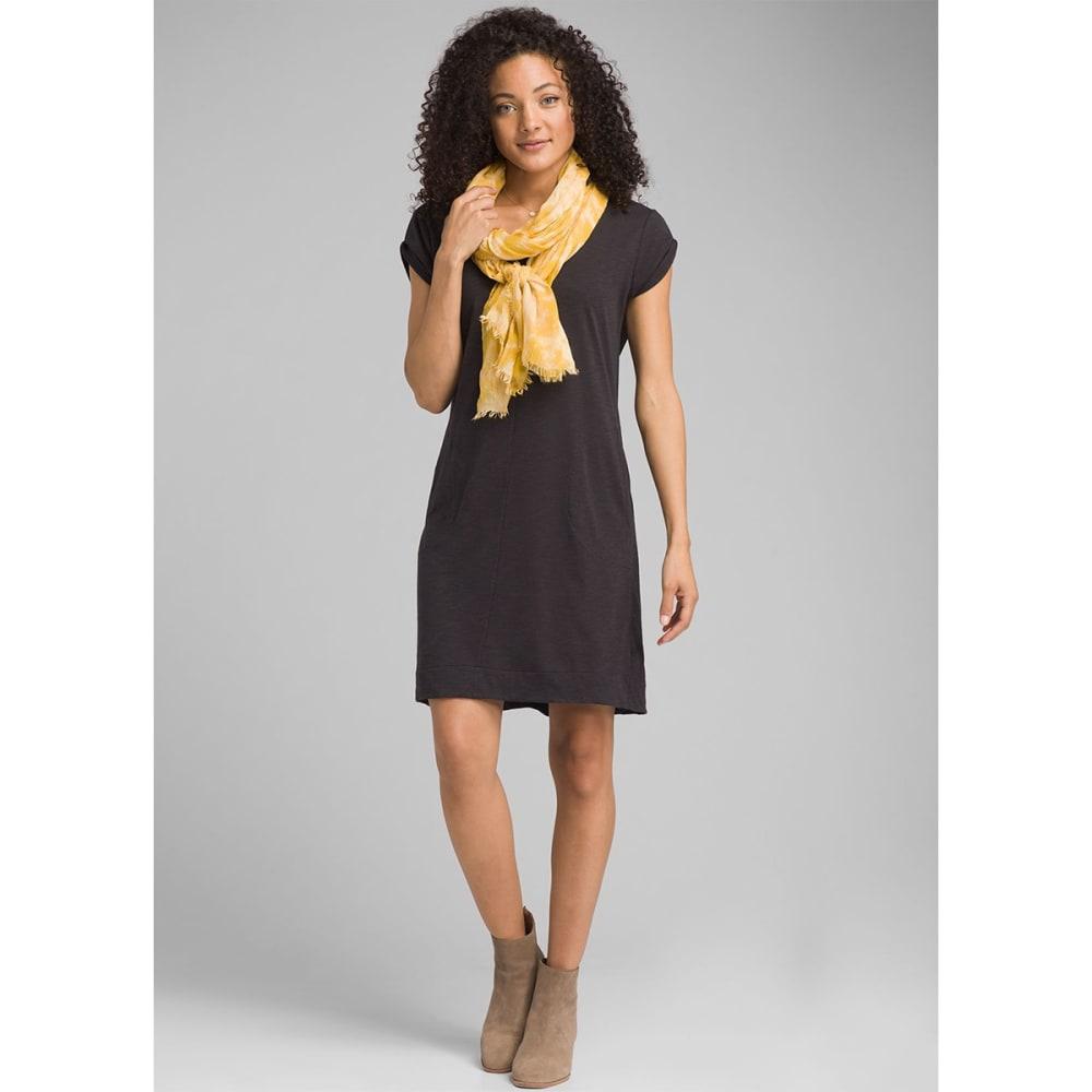 PRANA Women's Taxco Dress - BLACK