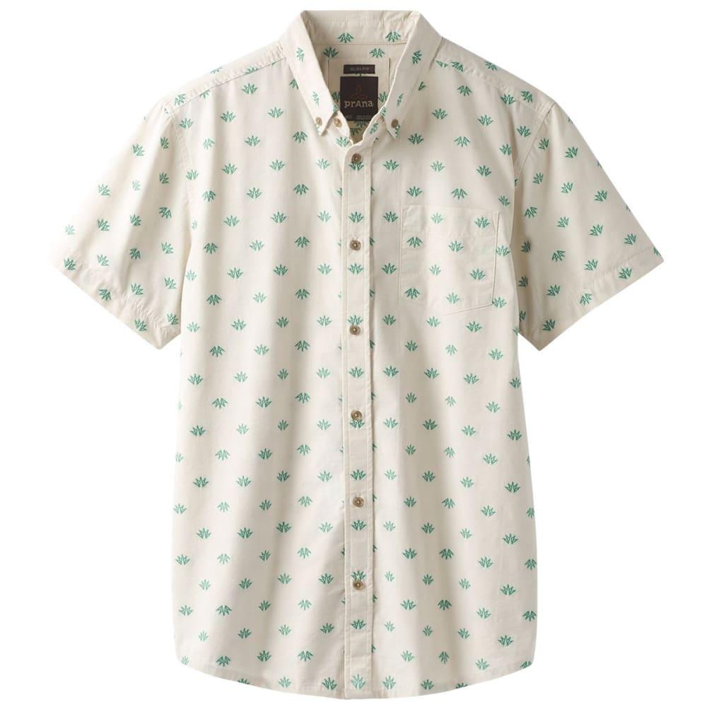 PRANA Men's Broderick Woven Short-Sleeve Shirt S
