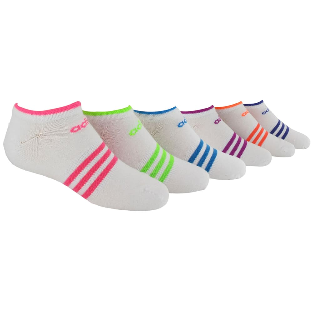ADIDAS Girls' Superlight No Show Socks M