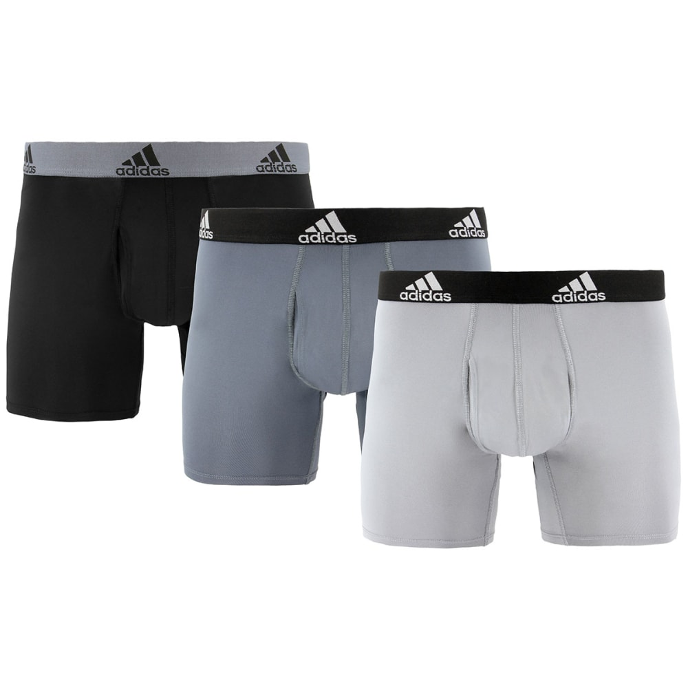 ADIDAS Men's Sport Performance Climalite Boxers, 3-Pack S