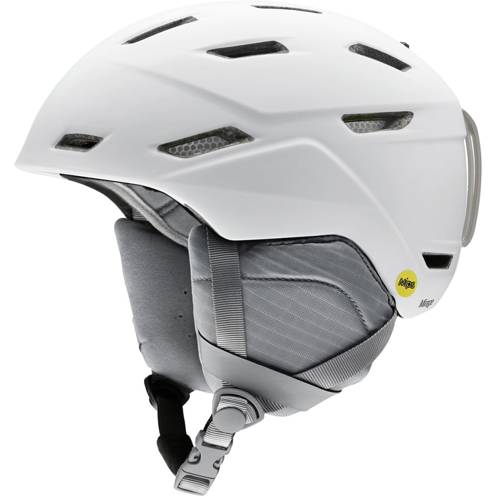 SMITH Women's Mirage Ski Helmet - MATTE WHITE