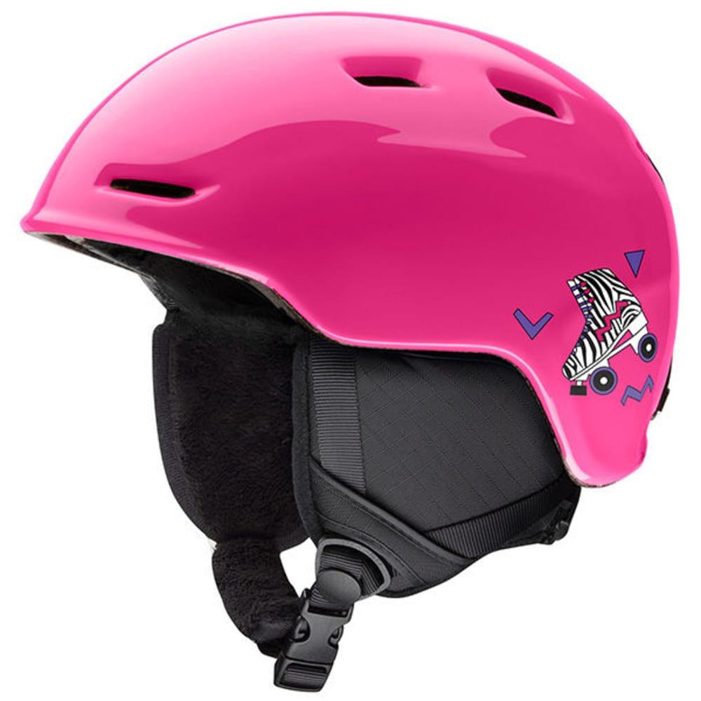 SMITH Kids' Zoom Jr. Ski Helmet - PINK SKATES