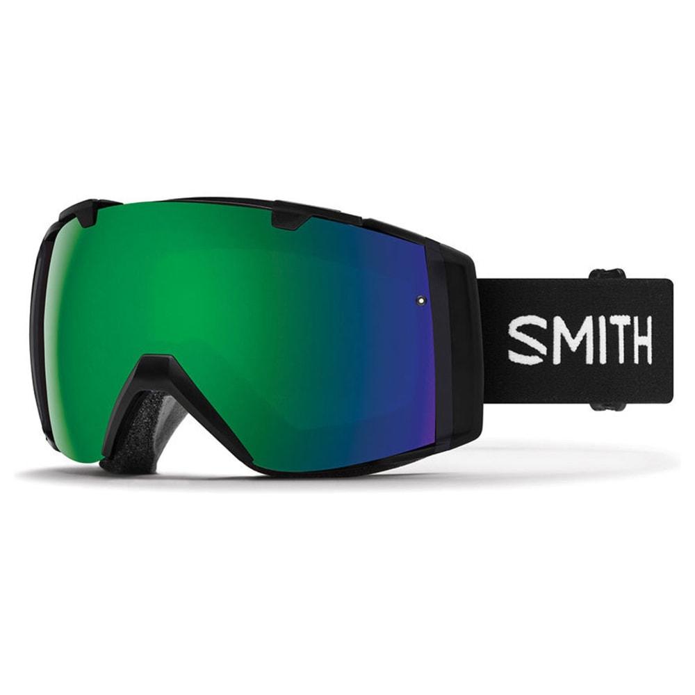 SMITH I/O Ski Goggles - BLK/SUN GREEN MIRROR