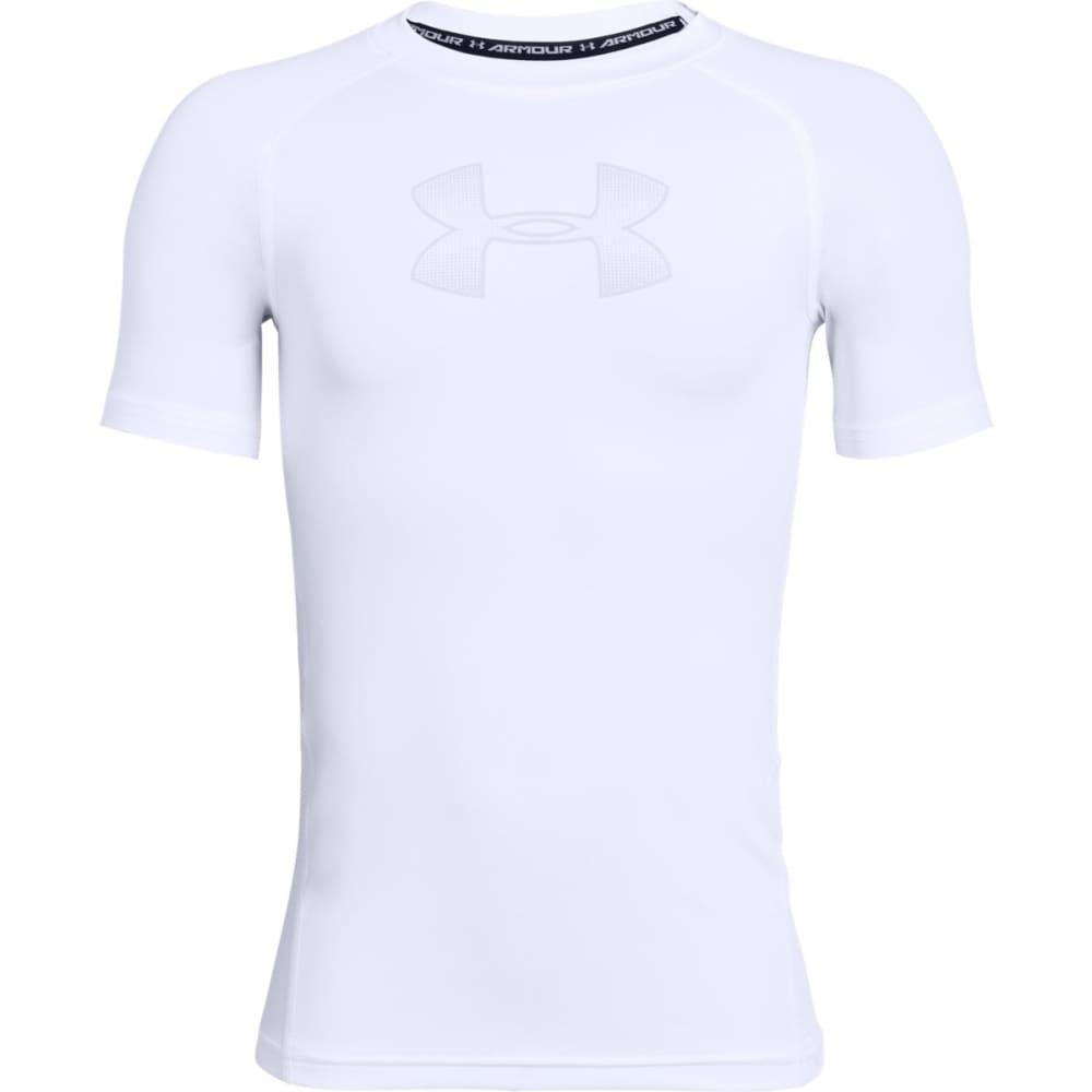 UNDER ARMOUR Boys' HeatGear Armour Short-Sleeve Shirt S