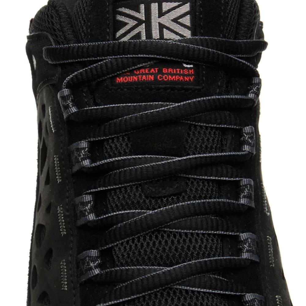KARRIMOR Men's Corrie WTX Waterproof Low Hiking Shoes - BLACK