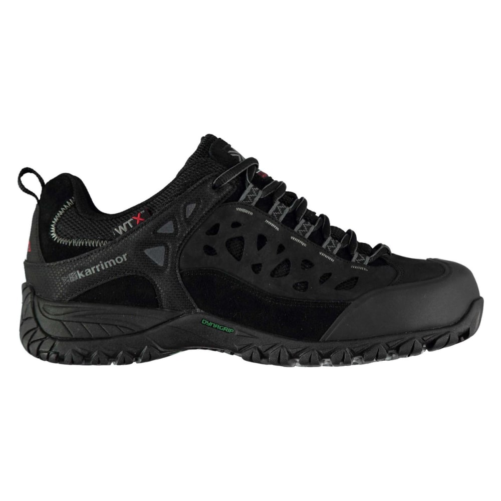 KARRIMOR Men's Corrie WTX Waterproof Low Hiking Shoes - BLACK