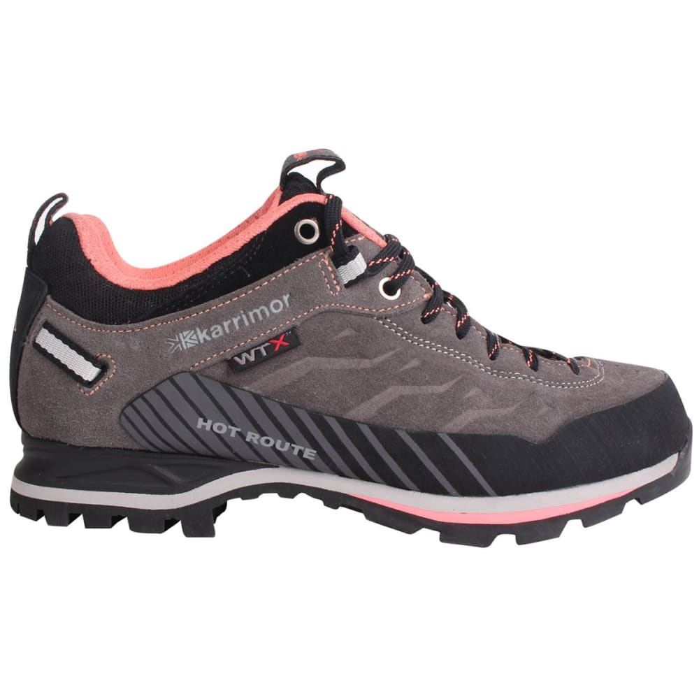 032e35a894 KARRIMOR Women  39 s Hot Route WTX Waterproof Low Hiking Shoes - Charcoal