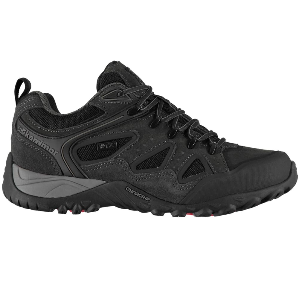 KARRIMOR Men's Ridge WTX Waterproof Low Hiking Shoes - CHARCOAL
