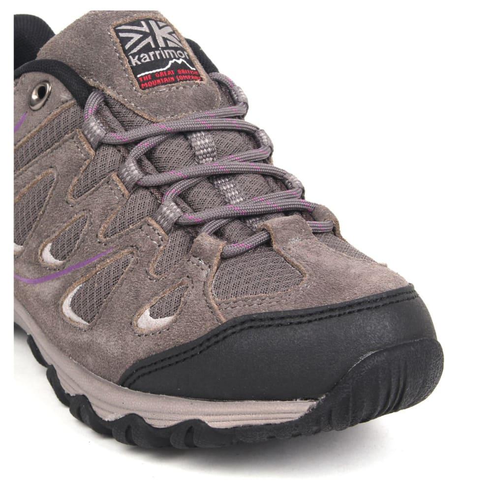 KARRIMOR Women's Summit Low Hiking Shoes - CHARCOAL