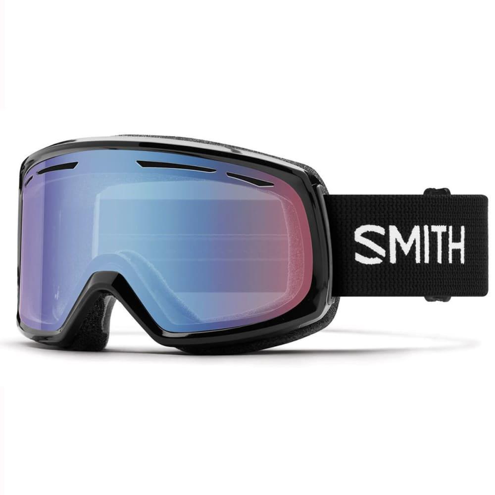 SMITH Women's Drift Mirror Ski Goggles - BLK/BLUESENSOR MIRR