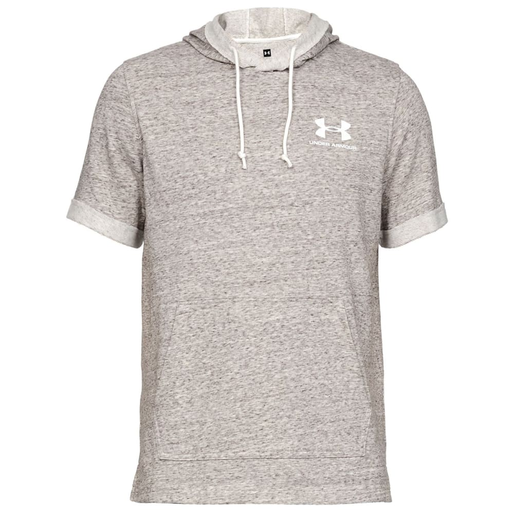 UNDER ARMOUR Men's Sportstyle Terry Short-Sleeve Hoodie S