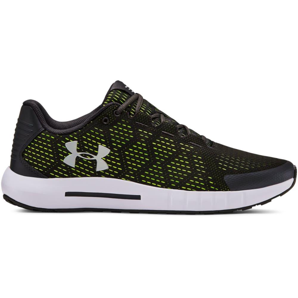 UNDER ARMOUR Men's UA G Pursuit SE Running Shoes - JET GRAY/WHITE-101