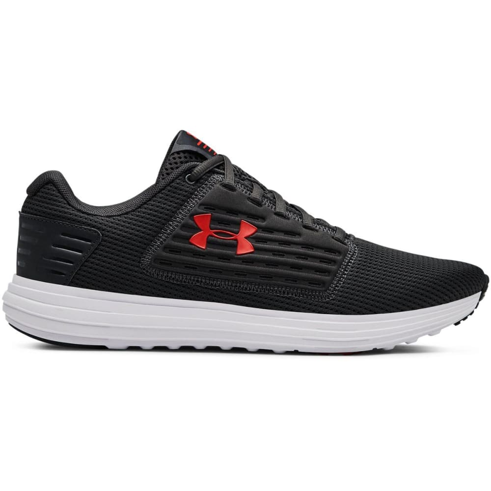UNDER ARMOUR Men's UA Surge SE Running Shoes - JET GRAY/WHITE-101